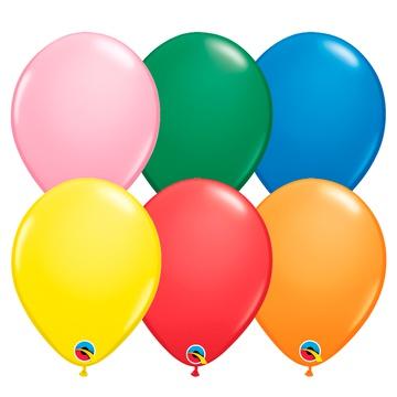 "Q 11"" ассорти стандарт 6цветов"