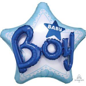А ДЖАМБО Baby Boy звезда голубая P75 3092201