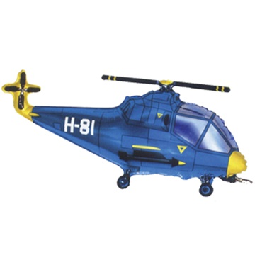 Ф М/ФИГУРА Вертолет синий 902667A