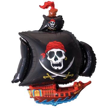 Ф М/ФИГУРА Корабль пиратский черный 902669N