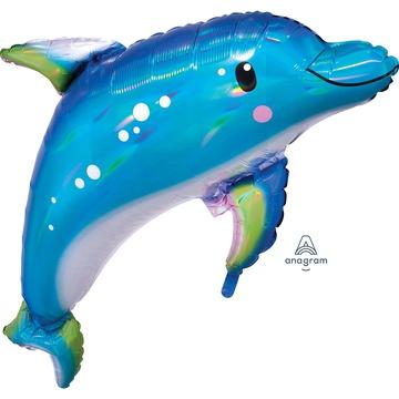 А ФИГУРА/P40 Дельфин голубой переливы