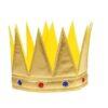 """Корона """"Царь"""" с камнями, цвет золотой 1498585"""