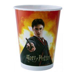 Набор бум. стаканов Гарри Поттер 6 шт.