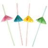 BA Трубочки для коктейля с зонтиком 8шт